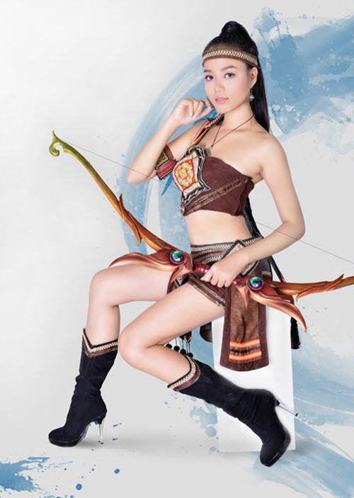 Ngắm Cosplay Nhân vật trong Thuận Thiên Kiếm
