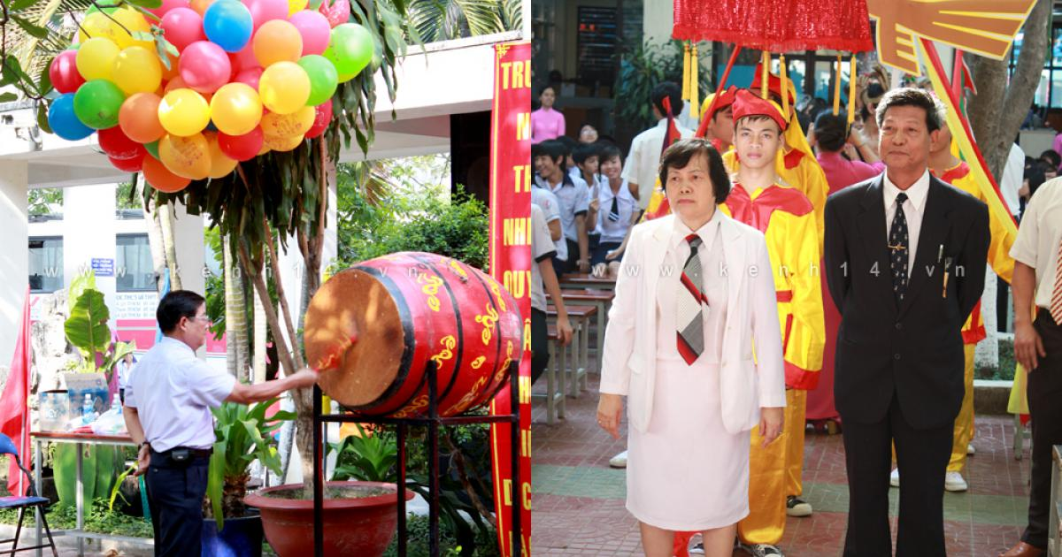 Học sinh trường Ngô Thời Nhiệm tưng bừng Giỗ Tổ Hùng Vương