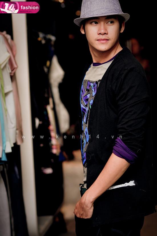 Tạo điểm nhấn trên bộ trang phục cho teenboy
