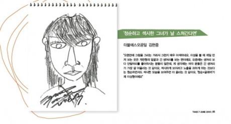 Mẫu người yêu lý tưởng của Kim Huyn Joong và Son Dam Bi là...?