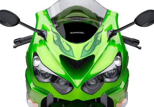 Vua môtô Kawasaki Ninja ZX-14R 2012 trình làng - Hình 2
