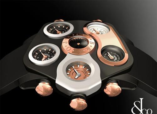 Becks khoe đồng hồ hơn 200 triệu đồng - Hình 2