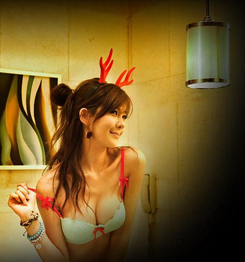 Siêu mẫu Playboy Hàn nóng bỏng với nội y