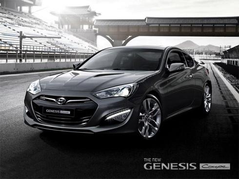 Hyundai chính thức tung ảnh Genesis coupe 2013 - Hình 3