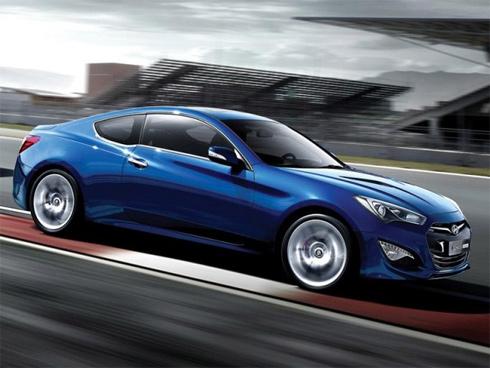 Hyundai chính thức tung ảnh Genesis coupe 2013 - Hình 1
