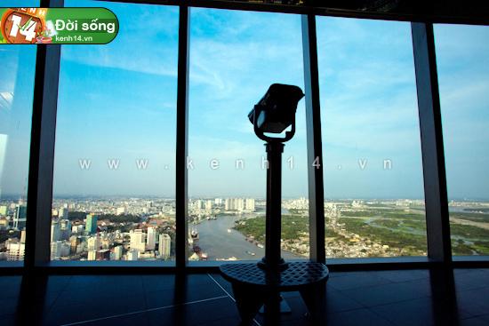 Chiêm ngưỡng cảnh đẹp có 1-0-2 từ tòa nhà cao nhất Sài Gòn - Hình 5