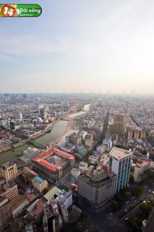 Chiêm ngưỡng cảnh đẹp có 1-0-2 từ tòa nhà cao nhất Sài Gòn - Hình 35