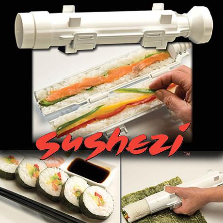 Cuốn sushi thật dễ với dụng cụ độc đáo