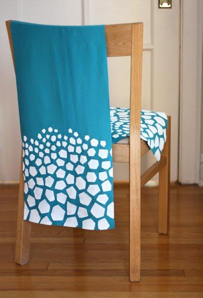 Hướng dẫn mẹ cách in họa tiết ngựa vằn lên khăn