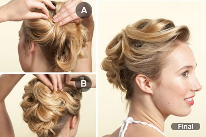 15 kiểu tóc cô dâu hiện đại - Hình 3