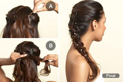 15 kiểu tóc cô dâu hiện đại - Hình 7