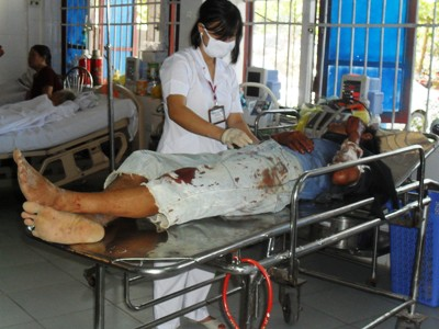 Hà Tĩnh: Vụ tai nạn xe khách thảm khốc: Xe cố chạy sau khi bị hỏng?