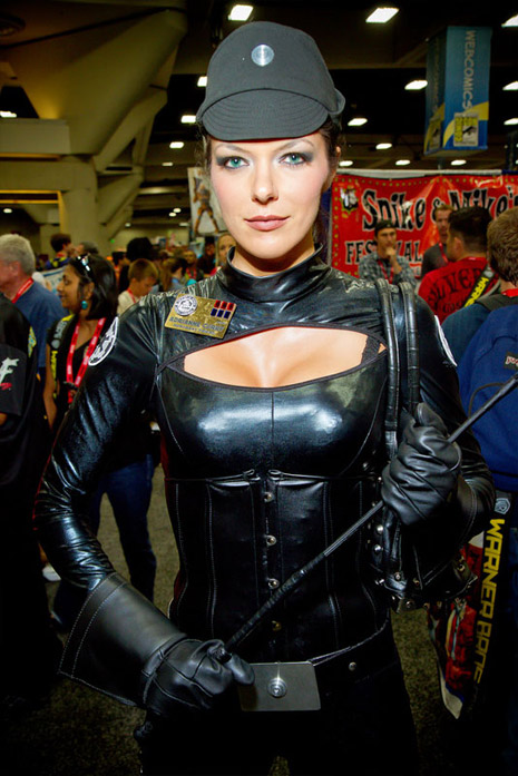 Những giai nhân tại Comic Con khiến du khách phát cuồng