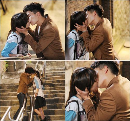 Những nụ hôn hot nhất màn ảnh Hàn tuần qua (6)
