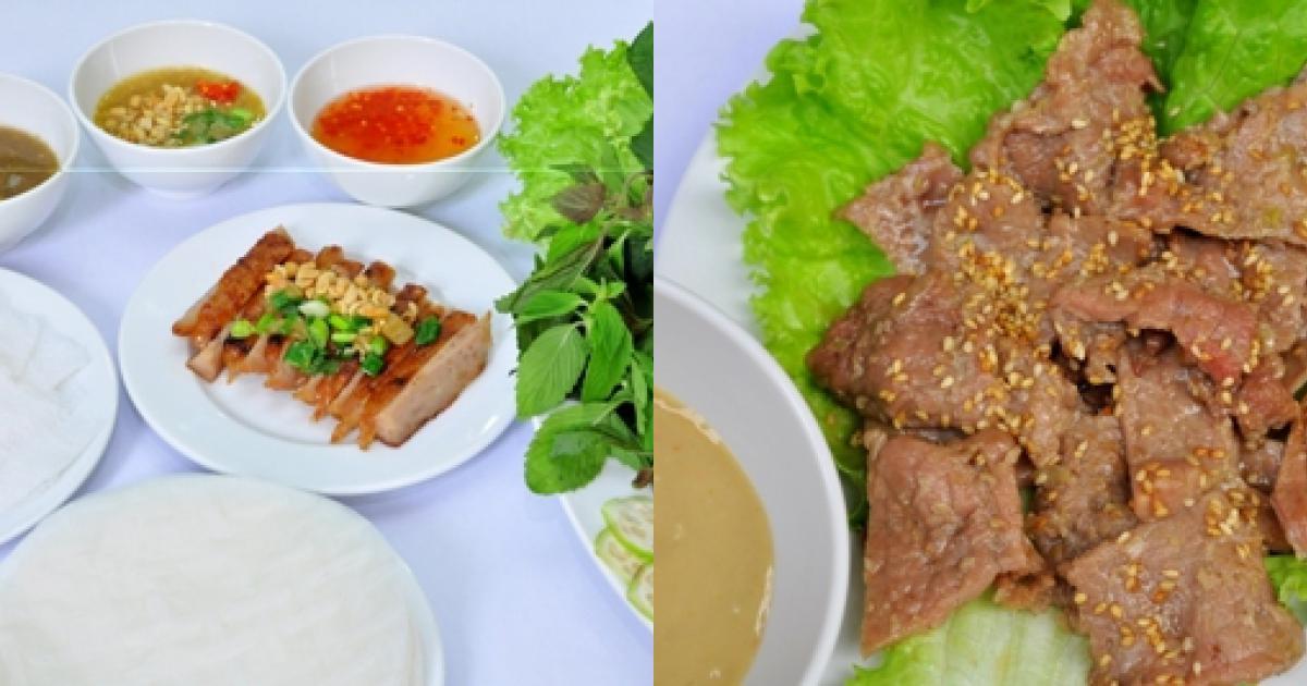 Món ngon tại Quán Nem và Thịt Nướng Quen