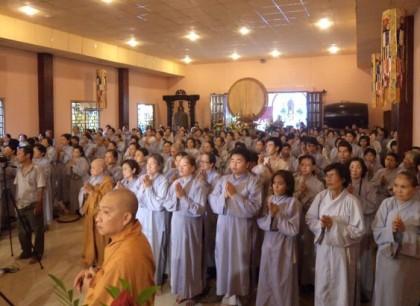 TPHCM: Hàng ngàn người dự lễ sám hối với thai nhi