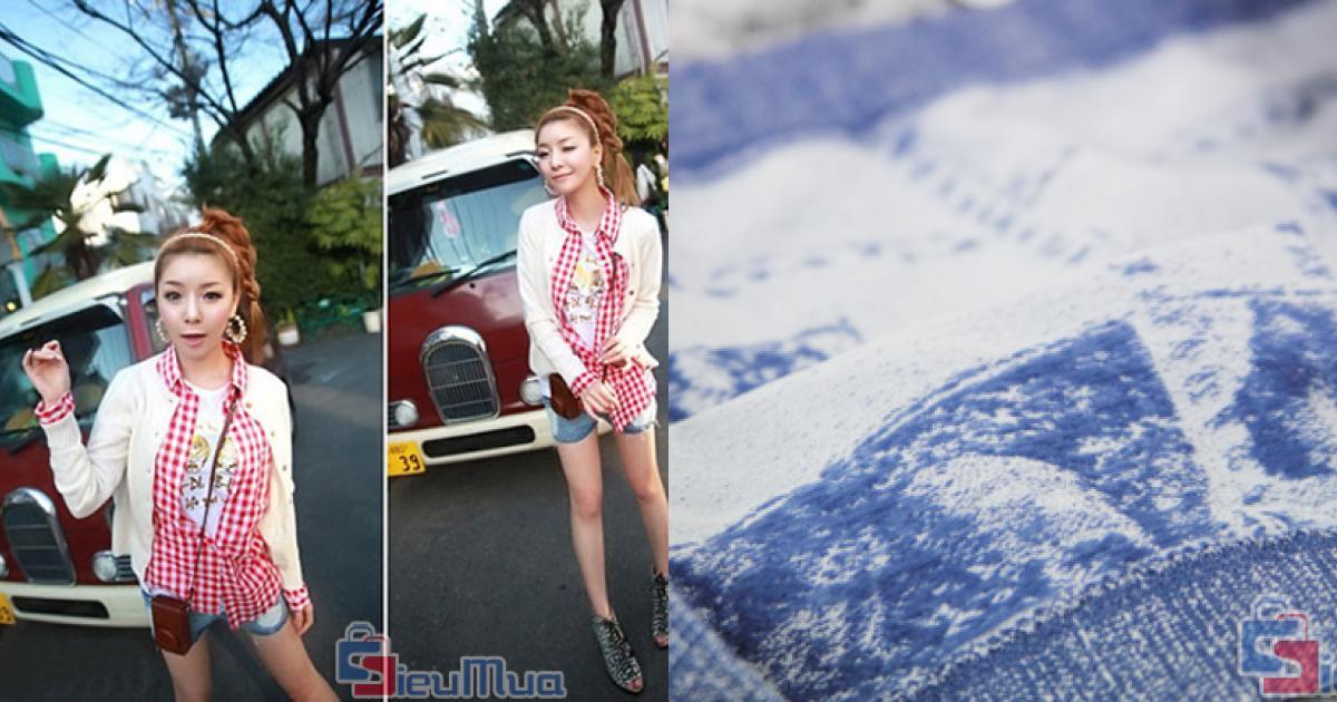 Combo 2 quần Short giả jean nữ giá chỉ có 80.000đ, chất liệu thun co giãn mềm mịn, thoải mái cho mọi cử động.