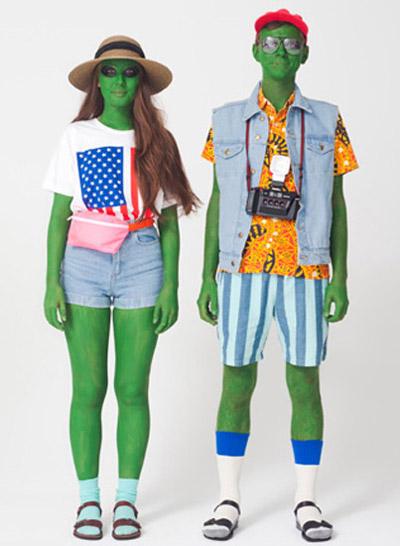Hóa trang Halloween cùng teen Mỹ