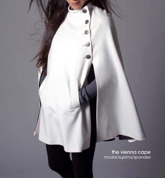 Chế áo cape cổ điển đẹp như Audrey Hepburn