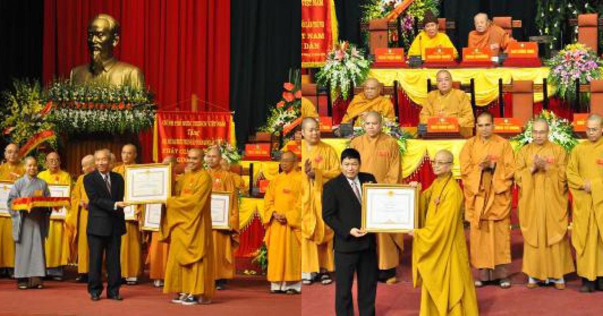 Giáo hội Phật giáo Việt Nam đón nhận nhiều danh hiệu cao quý