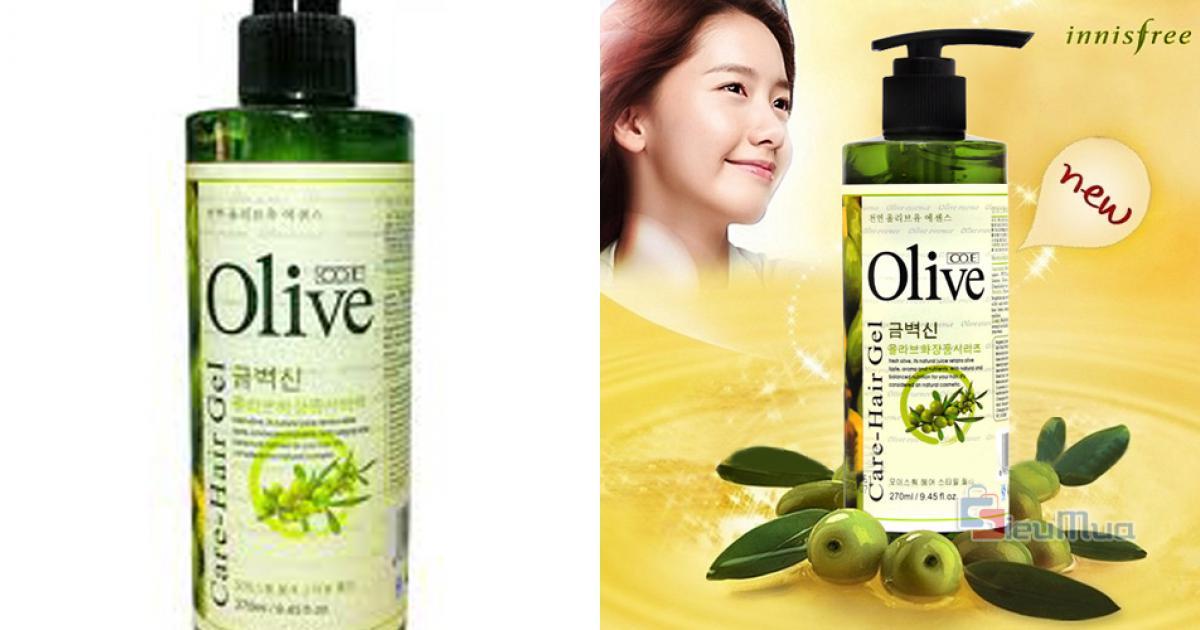 Gel Duỡng Tóc Olive Hàn Quốc giá chỉ có 75.000đ, tạo kiểu dáng cho mái tóc óng mượt, giữ nếp ổn định, giúp tóc sáng tự nhiên.