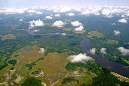 Ngắm 10 dòng sông dài nhất thế giới - Hình 10