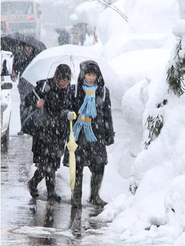 Nhật Bản: tuyết dày đặc, 53 người thiệt mạng - Hình 2