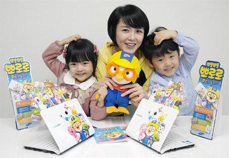 Samsung ra mắt netbook NC110-Pororo dành cho trẻ nhỏ - Hình 1