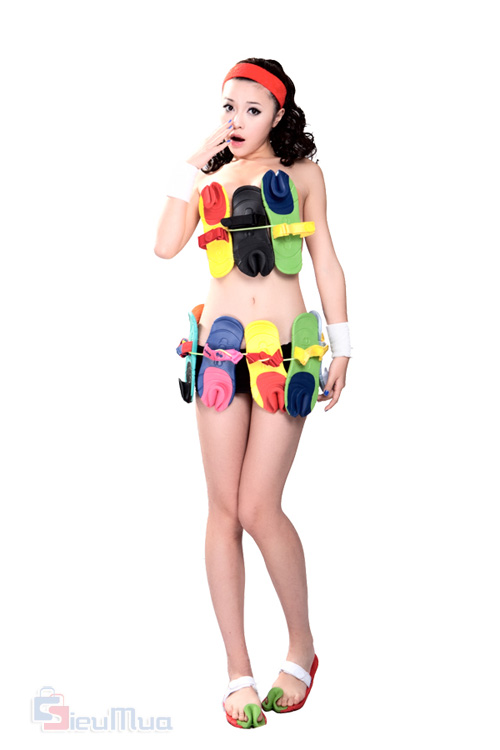 Dép Dopie Colorful, dép kẹp không quai hàng cực độc giá chỉ còn 155.000đ, dẫn đầu xu hướng thời trang mới nhất tại Châu Á.