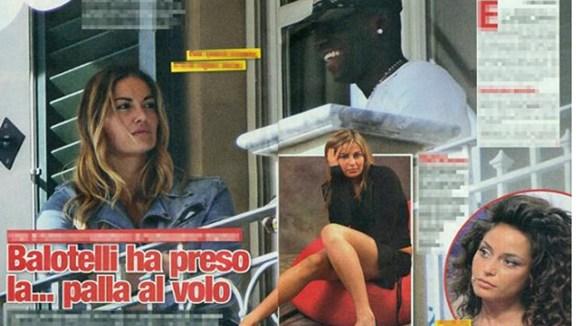 Balotelli công khai khoe bồ mới - Hình 1