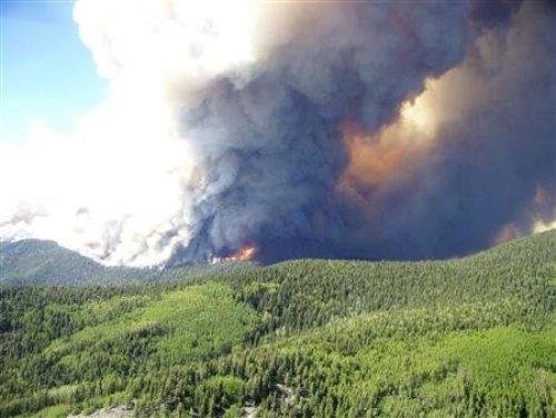 Cháy rừng khắp sáu bang tại Mỹ - Hình 1