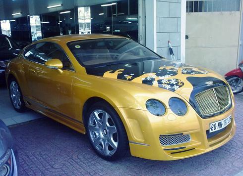 Bộ sưu tập xe siêu sang Bentley ở Việt Nam - Hình 1