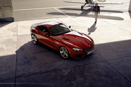 Zagato Concept - Tương lai của BMW Z4 Coupe? - Hình 1