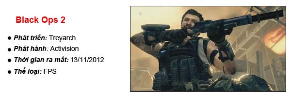 [E3 2012] Hậu sinh khả úy trong Call of Duty: Black Ops 2