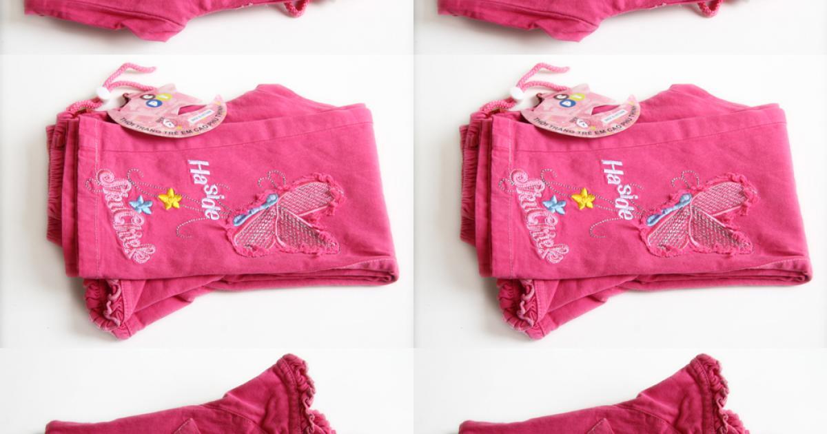 Quần kaki màu thêu hình dành cho bé gái giá chỉ có 79.000đ, nhiều mẫu hình dễ thương, chất liệu mềm mại cho bé thoải mái khi mặc.