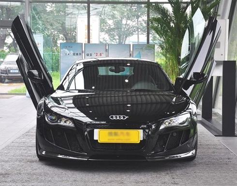 Siêu xe Audi R8 cửa kiểu Lamborghini - Hình 2
