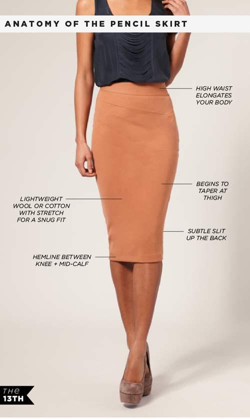 Váy bút chì: Từ công sở đến dạo phố - Hình 1