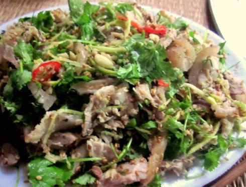 Ngũ vị trong món chạo chân giò Kim Sơn-Ninh Bình - Hình 1