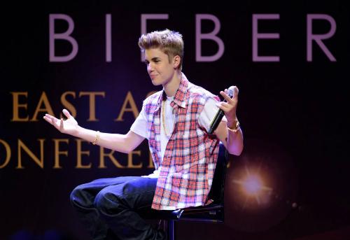 Justin Bieber thú nhận chứng sợ đám đông - Hình 1