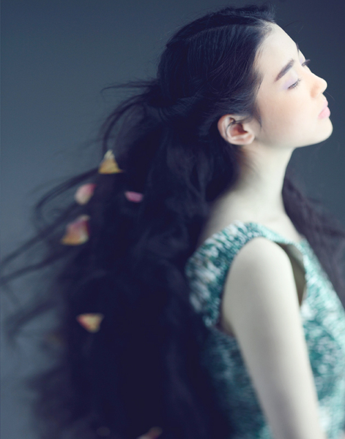 Nhan sắc của thiên sứ Trương Tân Uyển