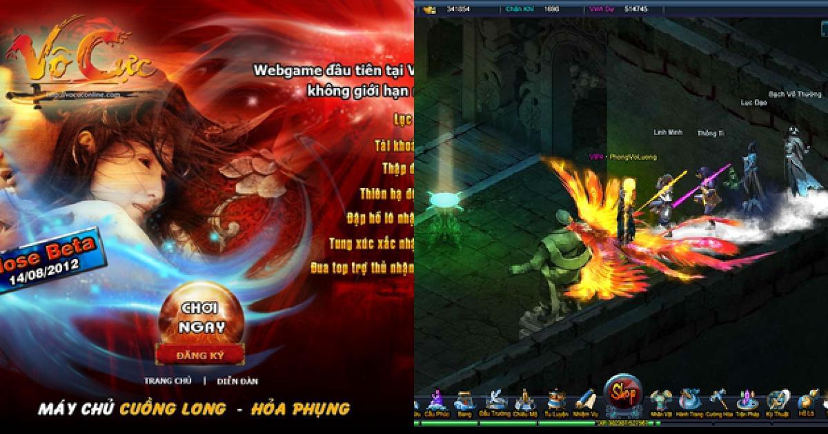 Game online Vô Cực mở cửa tại Việt Nam sáng mai