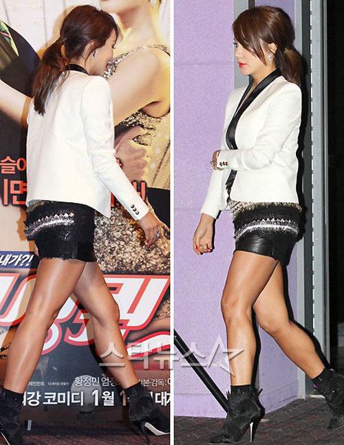 Những kiều nữ Hàn có đôi chân xấu tệ