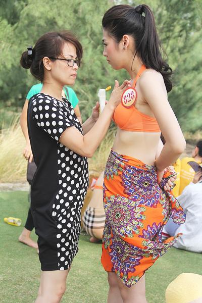 Những hình ảnh độc của Hoa hậu Việt Nam 2012