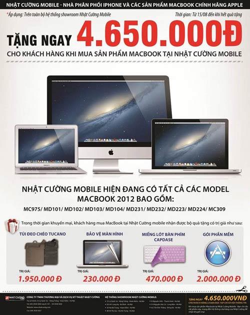 Mua MacBook tại Nhật Cường Mobile tặng quà giá trị. - Hình 2