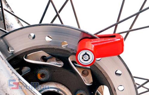 Khóa thắng đĩa xe máy giá chỉ có 75.000đ, được đúc nguyên khối, kiểu dáng nhỏ gọn, tiện dụng, khóa nhanh chóng, an toàn. - Hình 4