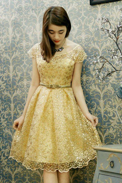 10 mẫu đầm dịu dàng cho phái đẹp - Hình 3