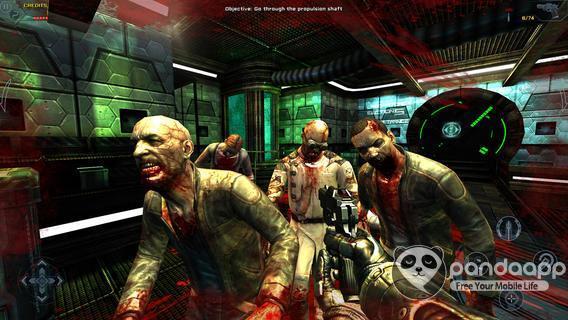 Thót tim với âm thanh kinh dị trong game Dead Effect - Hình 2