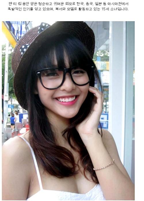 4 hot girl Việt gây sốt mạng Hàn Quốc loan luan 2