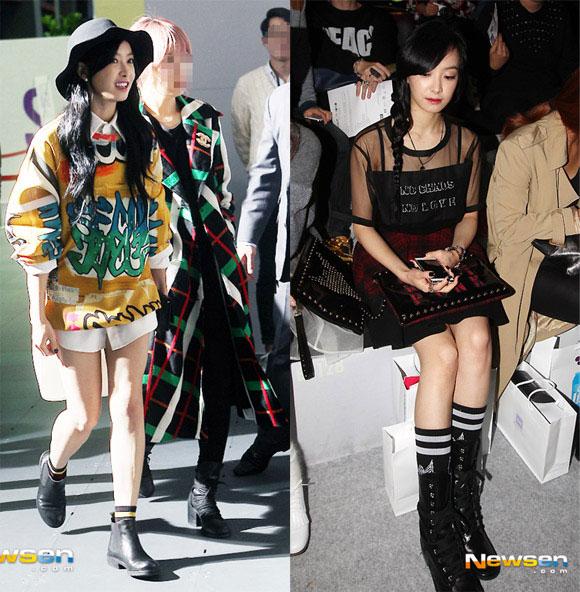 Sao Hàn ăn diện tham dự sự kiện Seoul Fashion Week - Hình 25