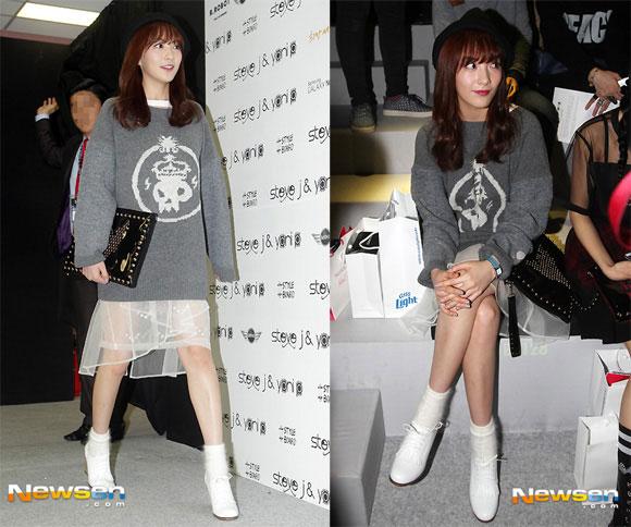 Sao Hàn ăn diện tham dự sự kiện Seoul Fashion Week - Hình 18